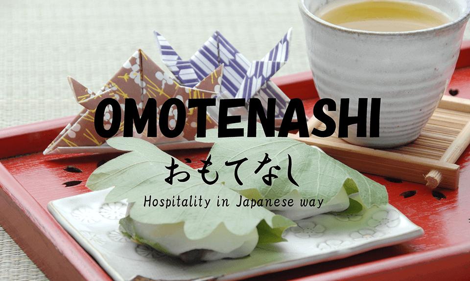 hospitality in japaniese way