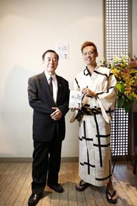 会長と竹井佑介とthemoney-