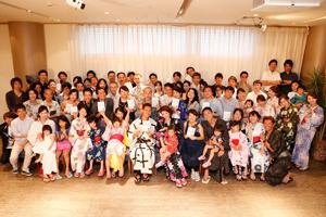 出版記念パーティーに来てくれた仲間と竹井佑介