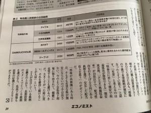 マネー紙にインタブビューが掲載された竹井佑介