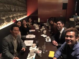 投資勉強会に参加された仲間と竹井佑介