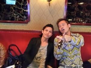 柳本さんと竹井佑介