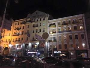 ウクライナのホテルにて
