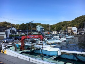 天草の漁船