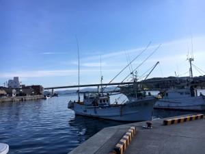 天草の漁港