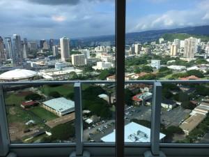 ハワイの眺望綺麗です