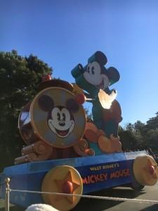 ミッキーパレード
