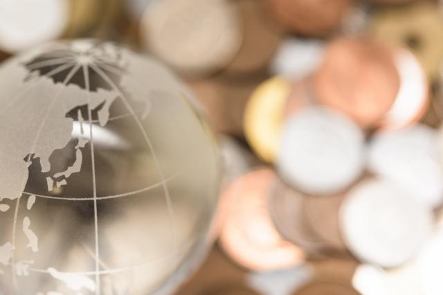 世界と日本円