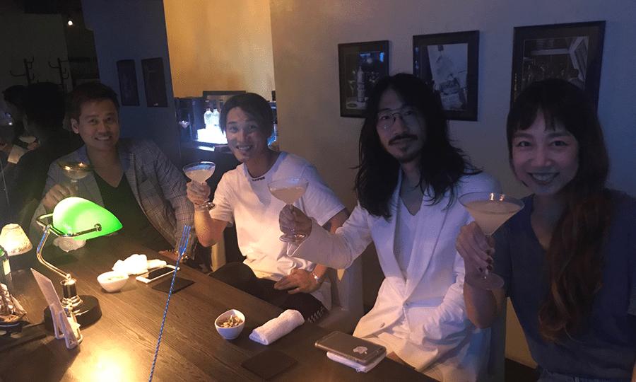 竹井佑介とケンタ、そして本地夫妻