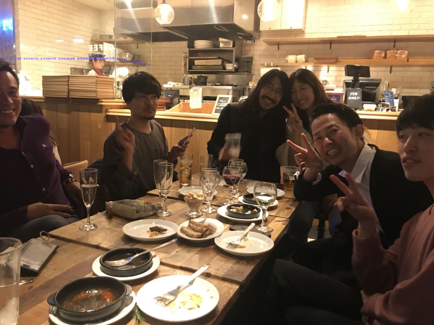 Real me恵比寿店と、元Real meメンバーたちの集い