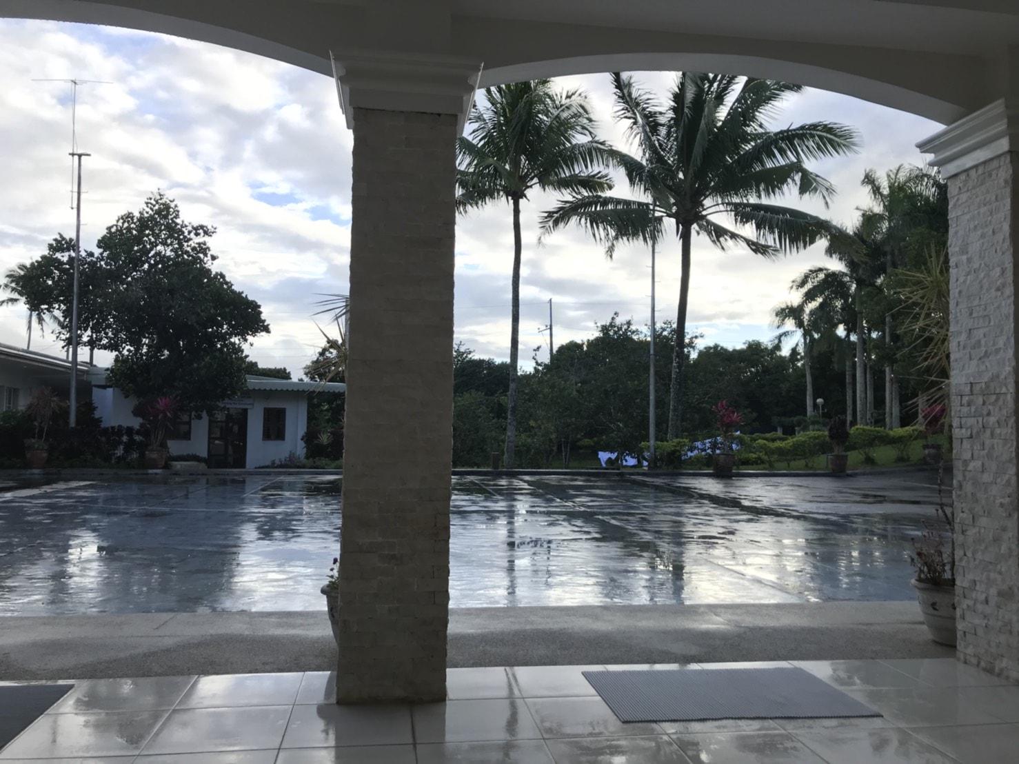 雨のフィリピン