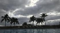 ハワイの自宅プール