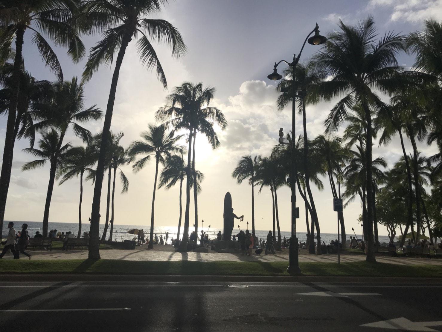 171208ハワイの景色