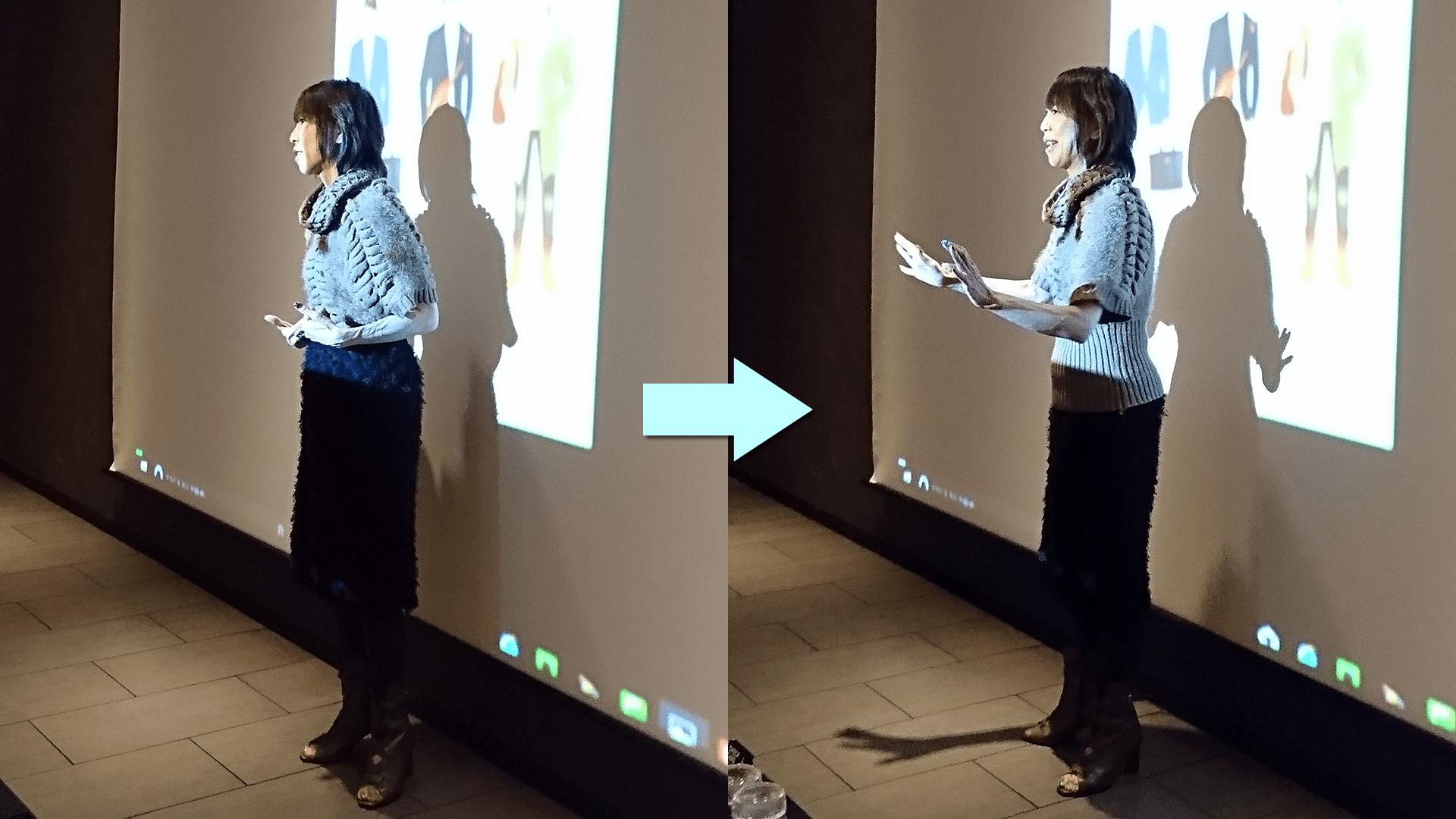 三溝成美さんの講義2