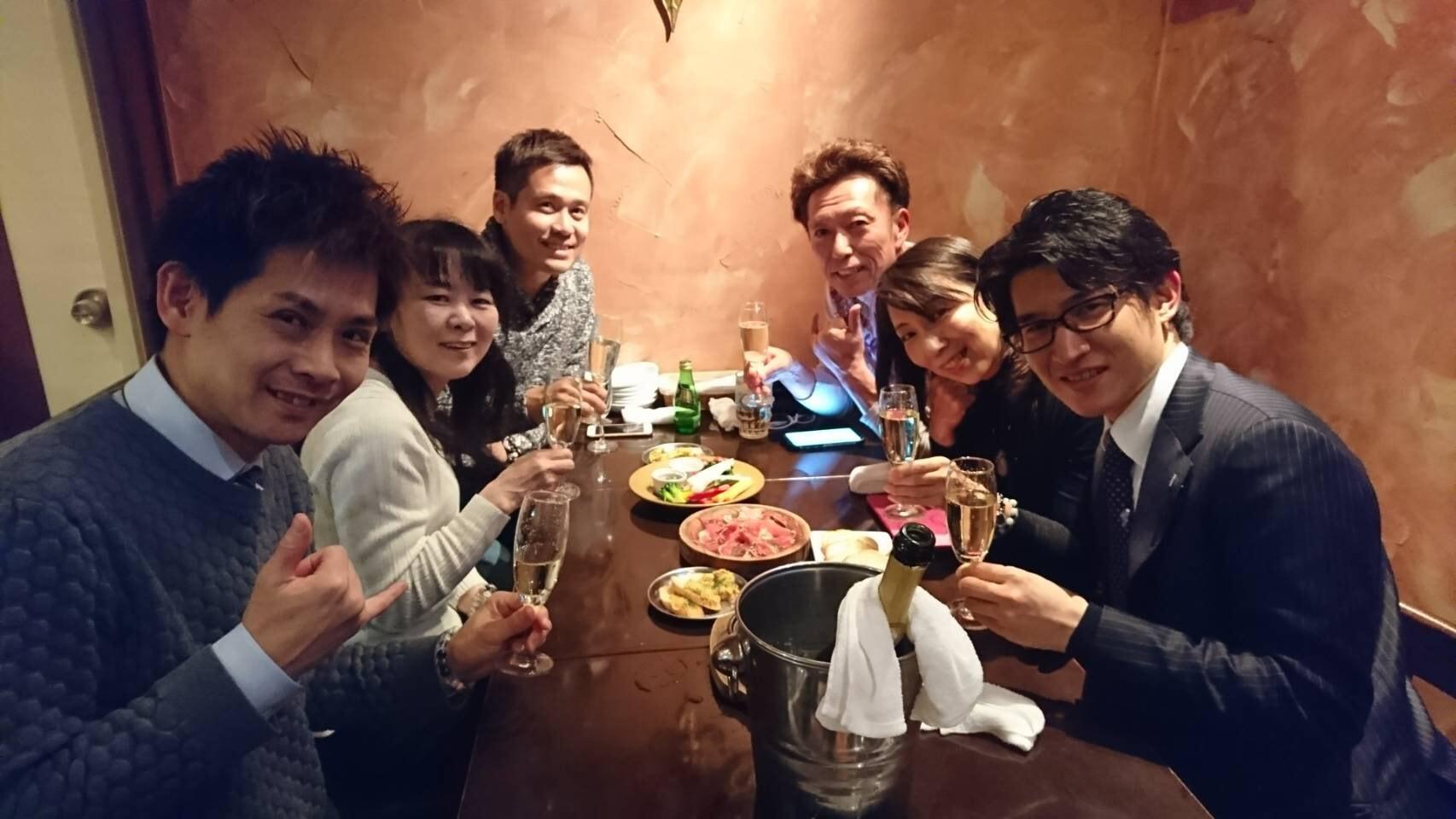 名古屋の仲間と記念撮影