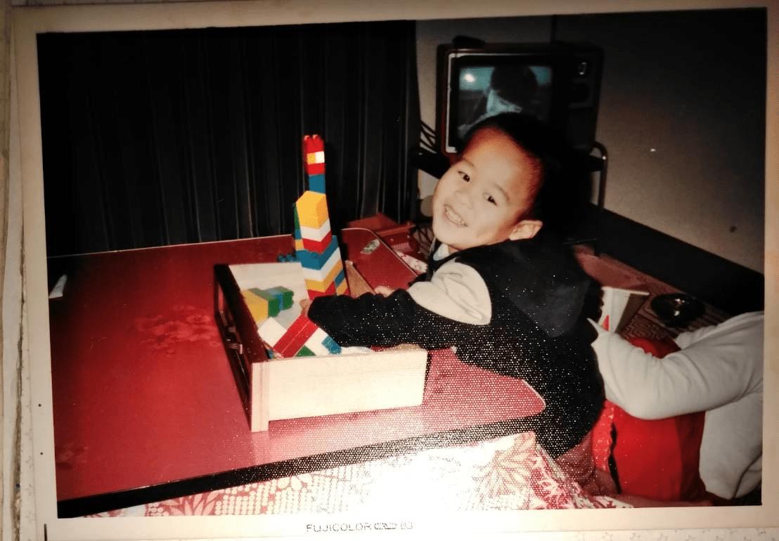 幼少期の竹井佑介